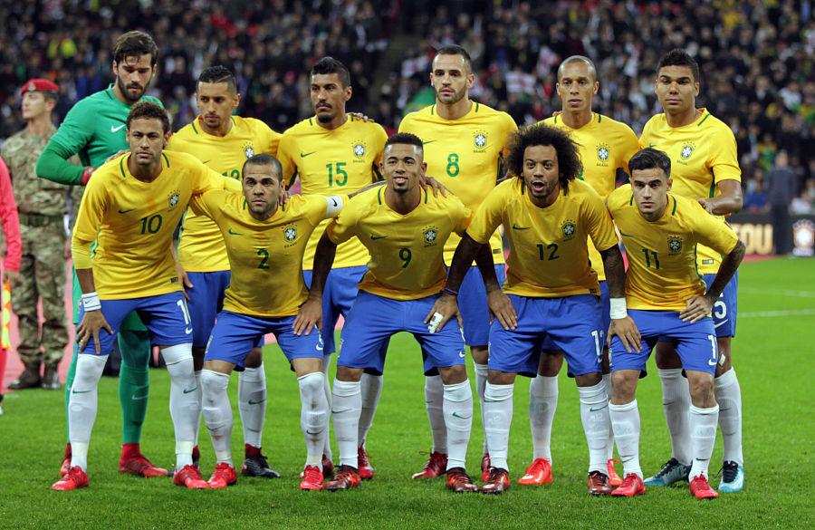 Brasil VM 2018 drakt